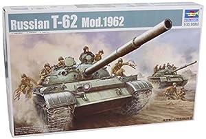 Trumpeter 376 T-62 - Tanque Principal de Batalla Modelo 1962