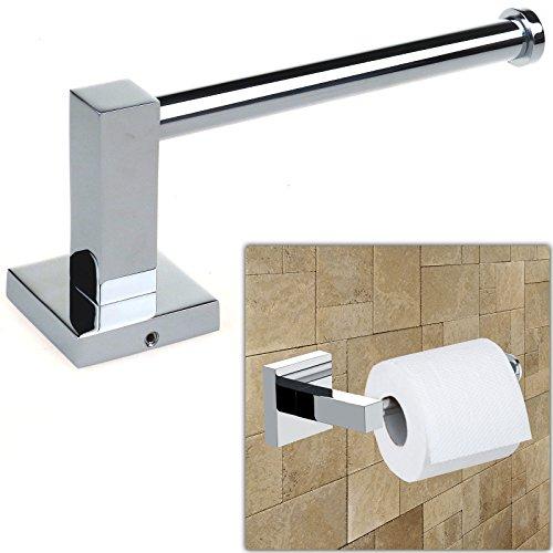 Safekom soporte para rollos de papel higi nico y escobilla for Accesorios bano papel higienico
