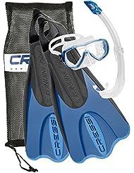 Cressi Sub S.p.A. Elastic Short Bag Set de snorkeling