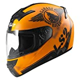 Ls2 Casco Moto Ff352 Rookie Fan, Matt Orange, L