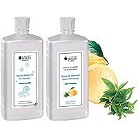 LAMPE BERGER Vorteilsset - 2 Düfte - 1000 ml Neutral und 1000 ml Belebende Frische/Zitronen Verbene/Zeste de Verveine... preisvergleich bei billige-tabletten.eu