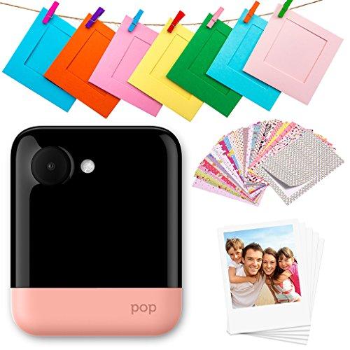 Polaroid Pop 2.0 - Cámara digital de impresión instantánea de 20 Mp, pantalla táctil de 3,97 In, Wi-Fi incorporado, tecnología Zink Zero Ink y nueva aplicación, fotografías de 9 x 11 cm, rojo