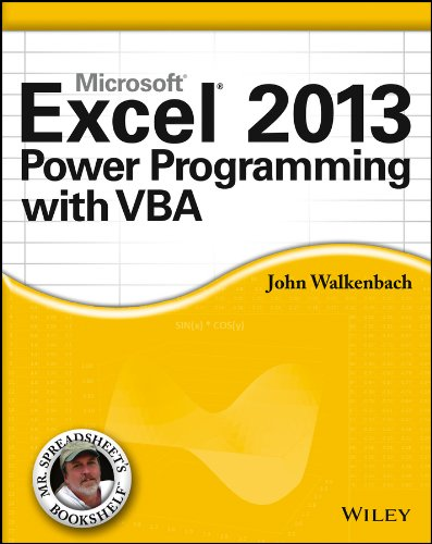 Excel 2013 Power Programming with VBA (Mr. Spreadsheet\'s Bookshelf Book 15) (English Edition)
