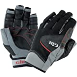 Gill Championship Short Finger Sailing Gloves Black 7241 Sizes- - XXLarge