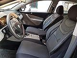Sitzbezüge k-maniac | Universal schwarz-grau | Autositzbezüge Set Komplett | Autozubehör Innenraum | Auto Zubehör für Frauen und Männer | NO2226423 | Kfz Tuning | Sitzbezug | Sitzschoner