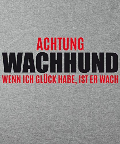::: ACHTUNG WACHHUND ::: Boys T-Shirt Sports Grey
