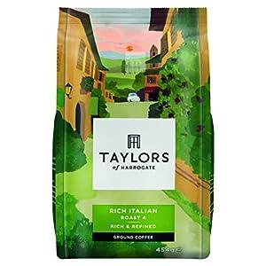 Taylors of Harrogate Rich Italian Ground Coffee, 454 g