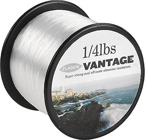 Fladen Vantage Pro Bulk Bobine 1/1,8kg de fil de pêche monofilament (transparent et marron)–existe en 3, 6, 10, 12, 14, 18, 23, 28, 35, 45et 24,9kg, claire