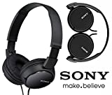 #4: Sony Mdr-Zx110A Extra Bass On-Ear Stereo Headphones - Premium Quality , Crystal Clear Sound