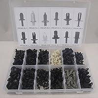 carrosserie Plastique Push Pin moulures de Rivet Attaches Clip Assortiments 350pcs pas cher – Livraison Express à Domicile