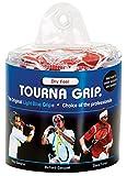 Tourna Grip Grip de tenis de, Original seco Feel, azul claro, 30 Pouch Blue