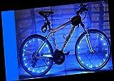 YYGIFT LED Wasserdichte Fahrradreifen Fahrrad Rad Led Speichen Speichenlicht Beleuchtung