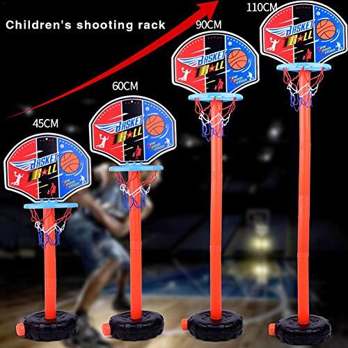 Sommer's Laden Tragbarer Basketballständer Der Kinder, Der Plastik- Und Basketballschleife Im Innen- Und Außenbereich Anhebt