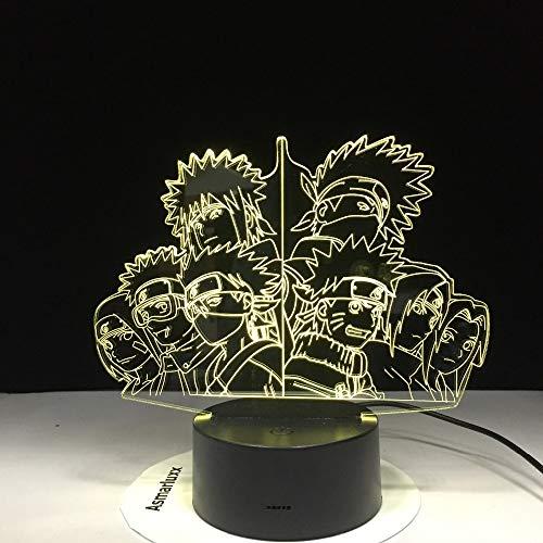 Gruppe Kakashi Hafengebiet Sasaki Erwachsene Sato Lampenfarbe Heimtextilien Tischlampe Vision Nachtlicht Touch-Fernbedienung