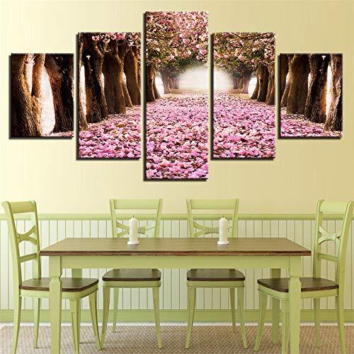 SUYUN Dekorative Malerei,HD Five-in-One-Tusche Malerei Bäume Landschaft Home Fashion Malerei Wandmalerei 10 Malerei Kern 10x15cmx2 10x20cmx2 10x25cmx1 (Paris Fashion Parfüm)