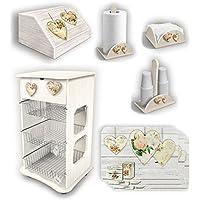 Shabby - Carrelli portafrutta / Portaoggetti e supporti: Casa e cucina