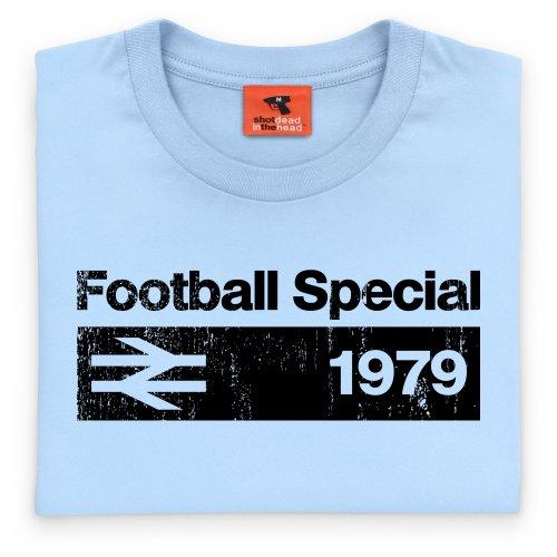 Football Special 1979 Vintage T-Shirt, Herren Himmelblau