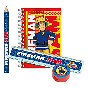 Amscan 9902188 Fireman Sam Stationery Packs