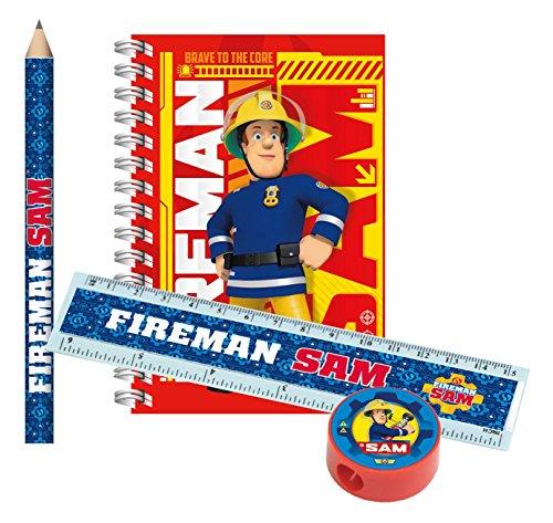 amscan 9902188 Schreibset, Feuerwehrmann Sam