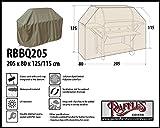 Raffles Covers RBBQ205 BBQ Grill Abdeckhaube Gasgrill Schutzhülle Outdoor-Küchen Haube Grillabdeckung Wetterschutzhülle für Grill, Abdeckplane BBQ