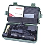 Clode Taschenlampe, 5000lm, X800ShadowHawk, T6LED Taschenlampe Lampe G700Light Kit