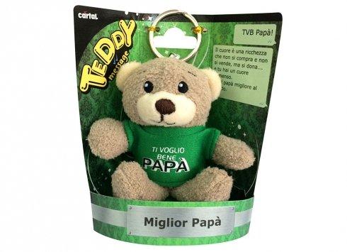 Papà ti voglio bene teddy message