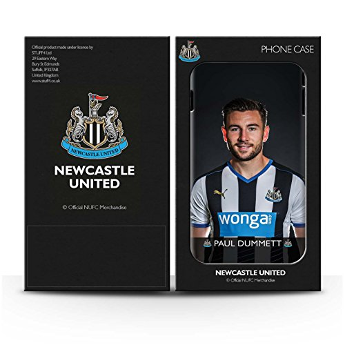 Officiel Newcastle United FC Coque / Clipser Matte Etui pour Apple iPhone 6 / Pack 25pcs Design / NUFC Joueur Football 15/16 Collection Dummett