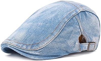 Westeng Sombrero,Boina,Gorra,Sombrero Retro,Azul oscuro,1pc