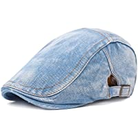 Leisial Sombrero de Boina Vaquera Gorra con Visera Casquillo Vintage  Sencilla Ocio al Aire Libre Sombrero 3272047c342