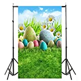 Gaddrt Photographers Photocall Backdrops Easter Day Theme Photography Background Studio Props - 90*150cm (D)