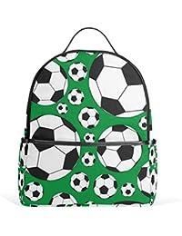 COOSUN Los balones de fútbol Escuela Mochila Ligera bolsa de mano libro para niños chicos chicas