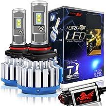 Win Power Kit de conversión todo en uno con bombillas LED CREE para faros delanteros –9012 HIR2– 7200 lm, 70 W, 6000 K, luz blanca fría – Pack de 2