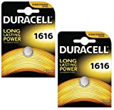 Duracell DL 1616 ELECTRONICS - Batterie - CR1616 x2