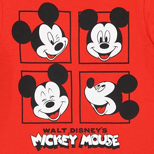Disney Pijamas de Manga Larga para niños Mickey Mouse