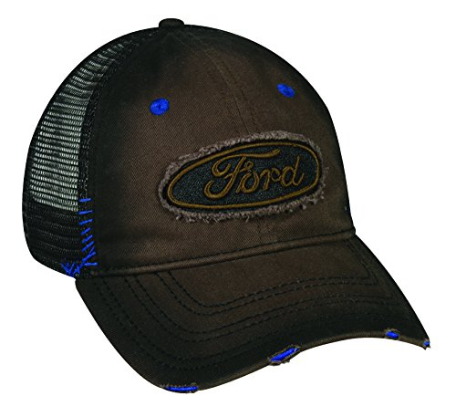 ford-fabric-patch-dark-oil-stain-mesh-back-cotton-cap