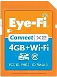 Eye-Fi Connect X2 4GB SDHC Klasse 6 Speicherkarte - Speicherkarten (4 GB, SDHC, Klasse 6, Orange)