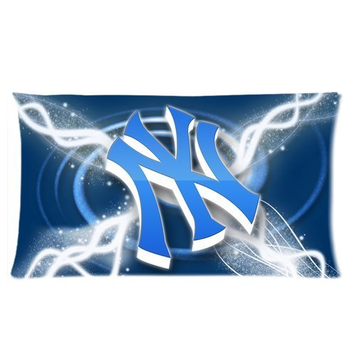 Stylish Design New York Yankees Club Team Logo personalized pillowcase hotsale for Children 20x36 Two sides-3