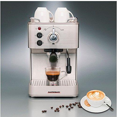 Gastroback 42606 Espressomaschine, silber