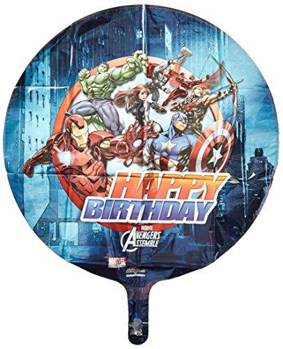 Marvel Amscan Avengers Geburtstag Standard Folie Ballon
