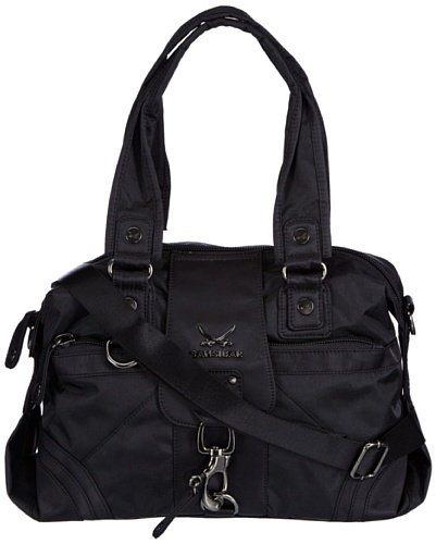 Sansibar  Calima, sacs à main femme Noir - Schwarz (black)
