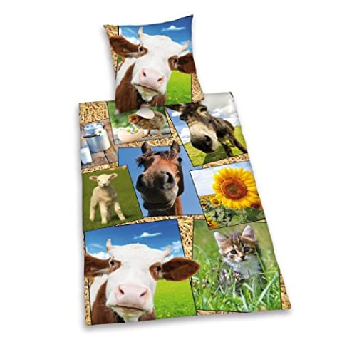Herding Young Collection Farm Animal Bed Linen