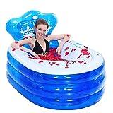 Lily's-uk Love Irak Run Günstige tragbare aufblasbare Badewanne verdickte große freistehende Badewanne Falten Erwachsener Wanne