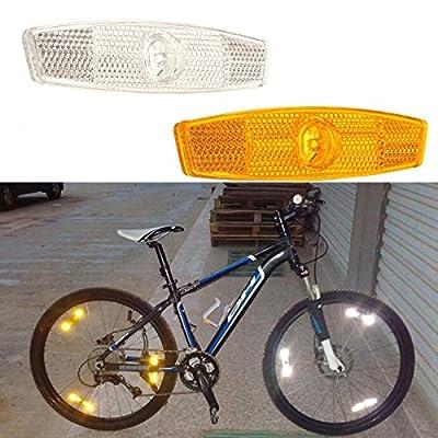 Bazaar Fahrrad Fahrrad Rad Speiche Reflektor Reflektierende Warn Devicce für Sicherheit Radfahren Schutz