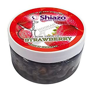 Shiazo 100gr. Strawberry - Stone Granulate - Nikotinfreier Tobacco Substitute 0,2 Pounds