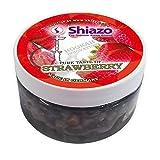 Shiazo 100 Gr. Fresa - Piedra Granulado - Nikotinfreier Sustituto Del Tabaco 100 Gr