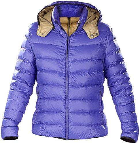Preisvergleich Produktbild PEARL outdoor Daunenjacke: Ultraleichte Steppjacke mit Daunen,  Größe M,  ultramarinblau,  unisex (Winterjacke)