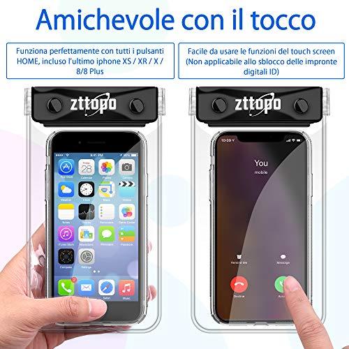 Custodia Subacquea Cellulare Sottile Custodia Morbida IPhone Xs