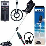 MYLEK® Lightweight Metal Detector Kit - Detects all Gold, Silver, Ferrous and Non-ferrous Metals
