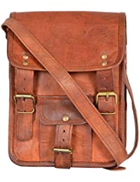 Leathercraft Unisex Sling Bag (Brown, ME25),7 Inches X 1.9 Inches X 9.4 Inches, Leathercraft Original Leather...