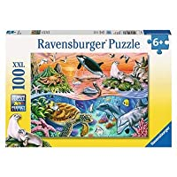 Ravensburger UK 10681 Ravensburger Underwater XXL 100pc Jigsaw Puzzle, Multicoloured